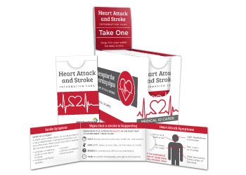 Related Product Heart Attack & Stroke ID Cards