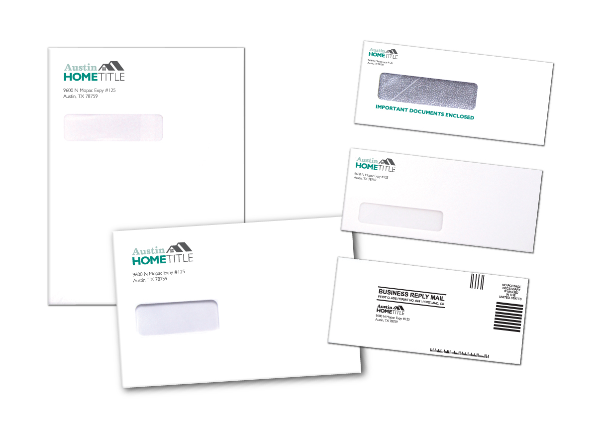 Title and Escrow Custom Envelopes