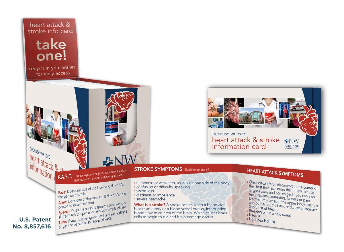 Heart Attack & Stroke Medical ID Card