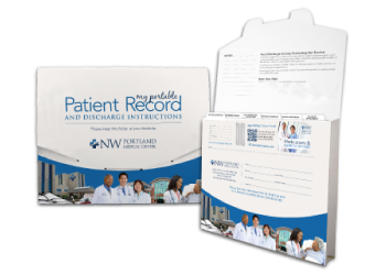 Related Product Patient Discharge Folders