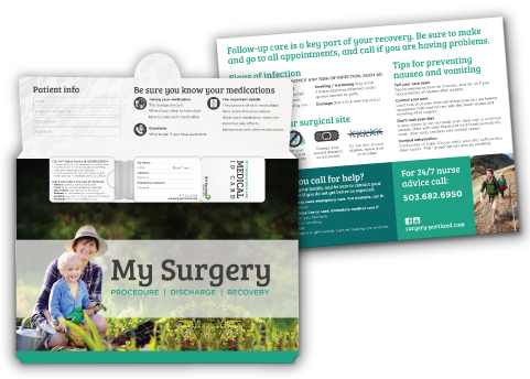 surgery-discharge-folders