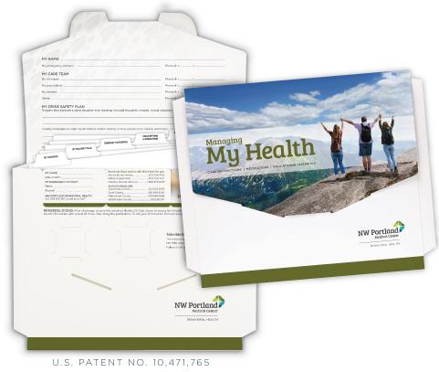 custom behavioral health folders