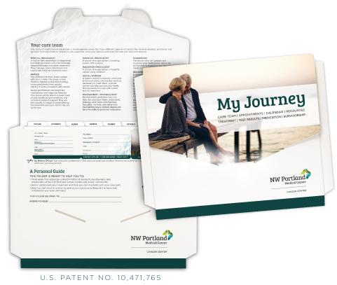 custom cancer patient folder