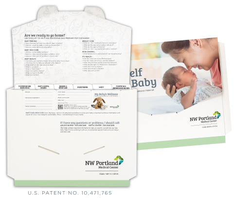 custom maternity folders
