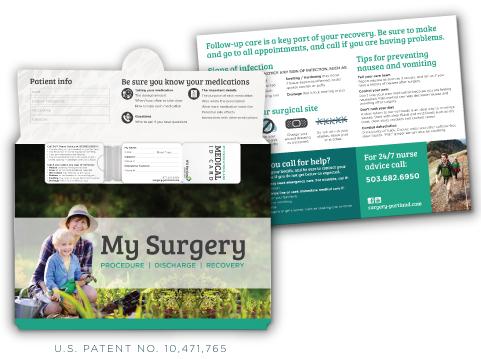 custom surgery folders